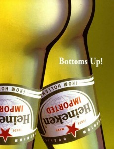Campaña de Heineken Bottons Up!