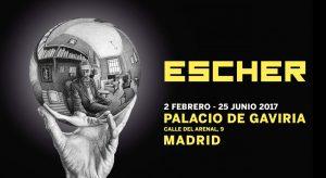 Exposición de Escher en el Palacio de Gaviria de Madrid