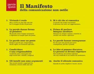 Manifiesto de la comunicación no hostil de Parole O_Stili