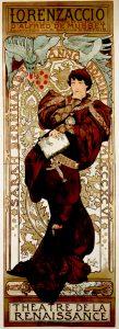 Lorenzaccio, de Alfons Mucha (1899).